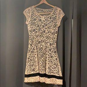 Tan & Beige Anthropologie Dress